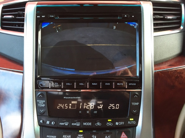 Toyota Vellfire / Alphard GPS Navigation Multimedia System