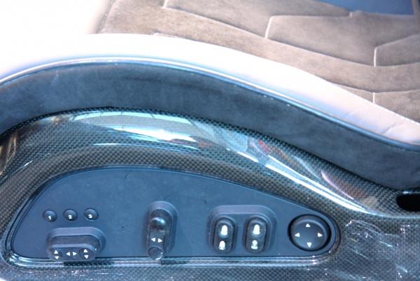 Ferrari 599 GTB HGTE Handling Carbon Seats