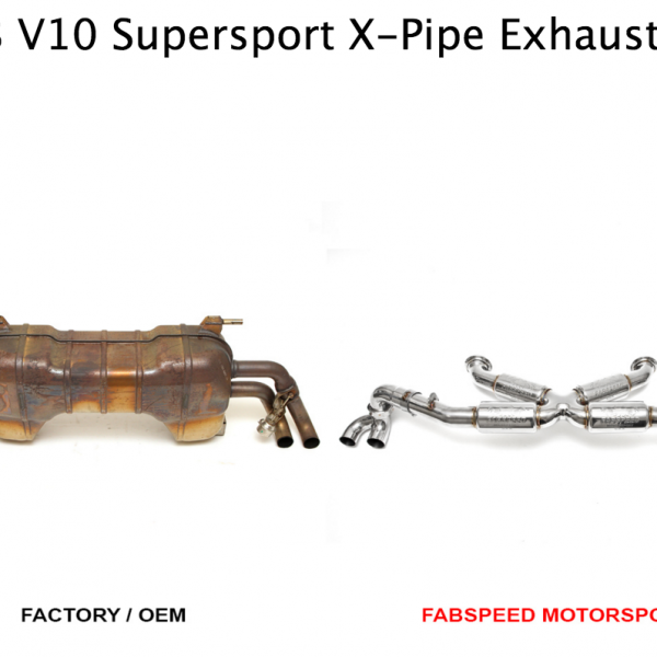 Fabspeed Audi R8 V10 Valvetronic X-Pipe Exhaust System