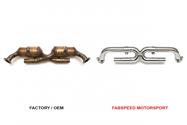 Porsche 997 Carrera (05-08) Sports Cat Bypass X-Pipe