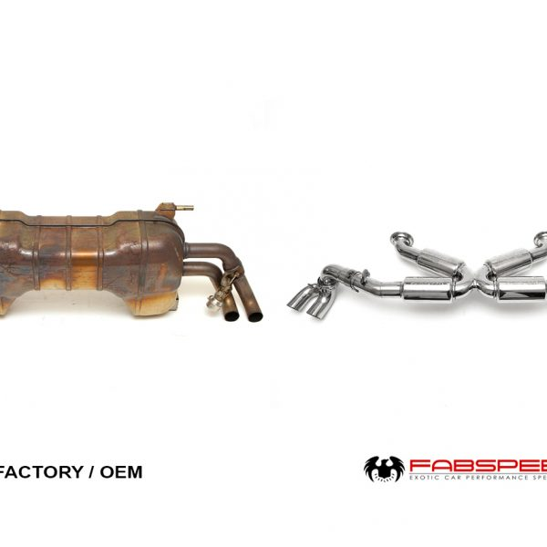 Fabspeed Audi R8 4.2 V8 (08-13) Supersport X-Pipe Exhaust System
