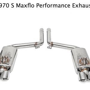 Fabspeed Porsche Panamera S Maxflo Performance Exhaust System