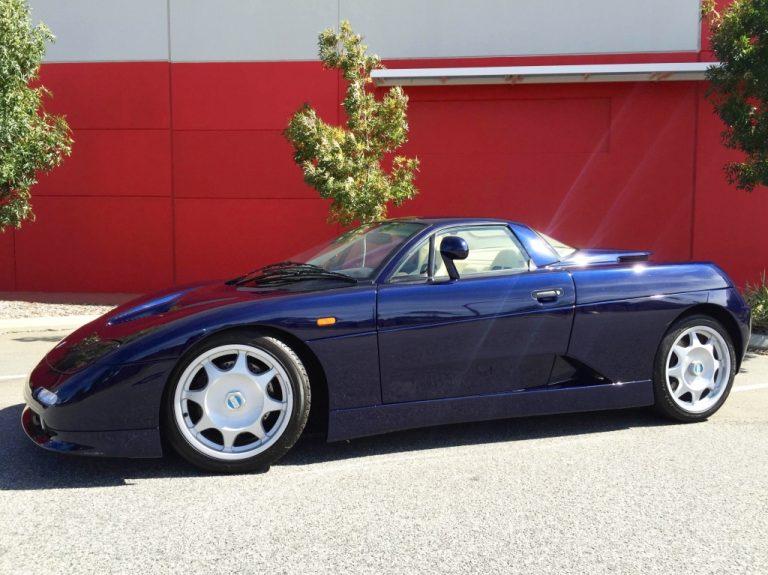 2002 DE-TOMASO Guara V8 COUPE -