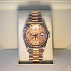 Gents Rolex Day Date Tridor President