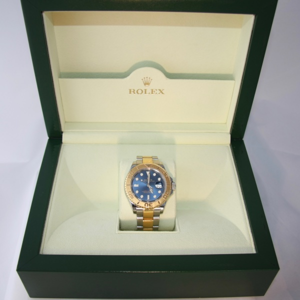 Gents Two Tone Rolex Yachtmaster