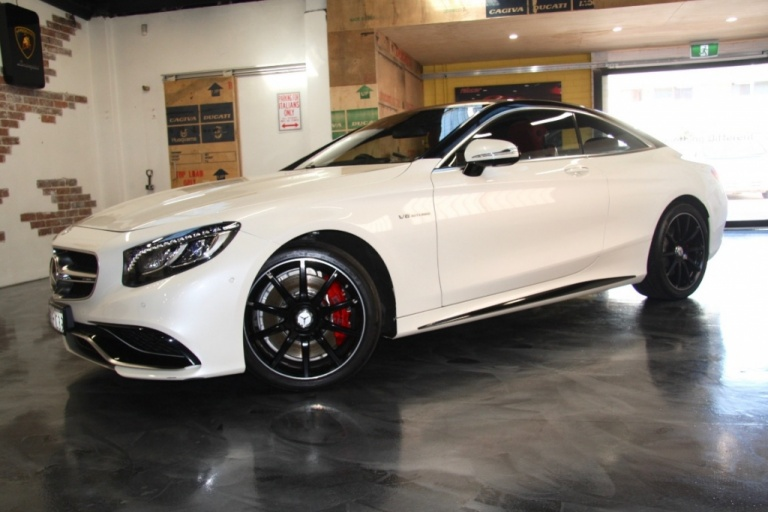 2015 Mercedes-Benz S63 C218 AMG S Coupe 4dr SPEEDSHIFT 7sp 5.5TT -