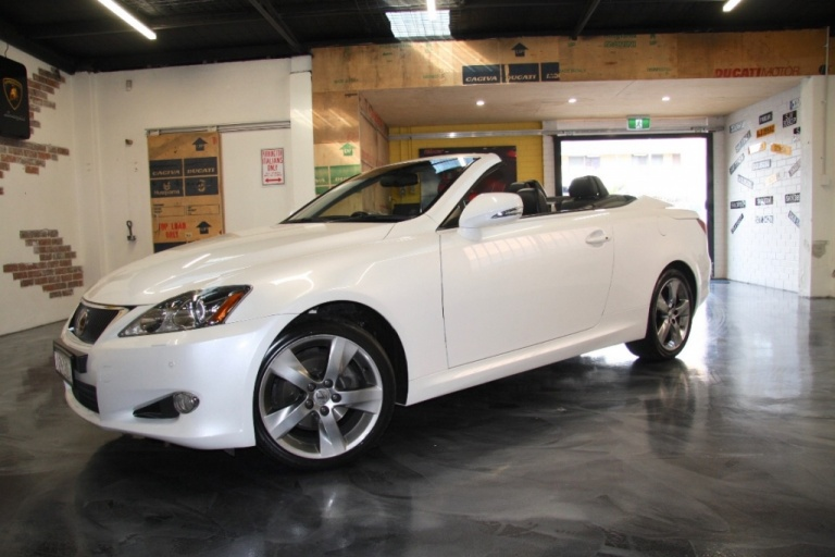 2010 Lexus IS250 C GSE20R Sports Luxury Convertible 2dr Spts Auto 6sp 2.5i -